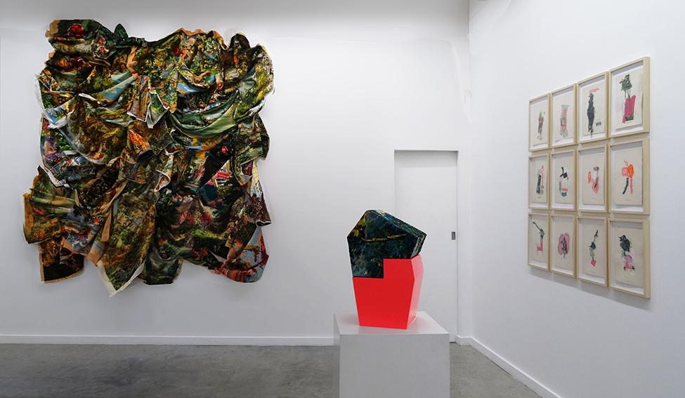 installation textile biennale de lyon 2019